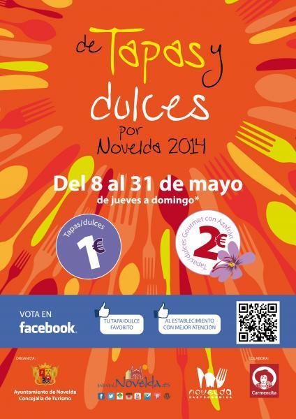 Ruta de Tapas y Dulces por Novelda 2014