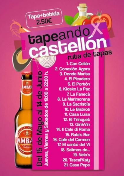 Tapeando X Castellón 2014
