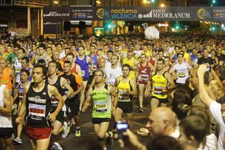 This weekend, Valencia will be running by night and as a herd