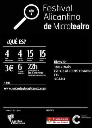 Festival Alicantino de Microteatro 2014