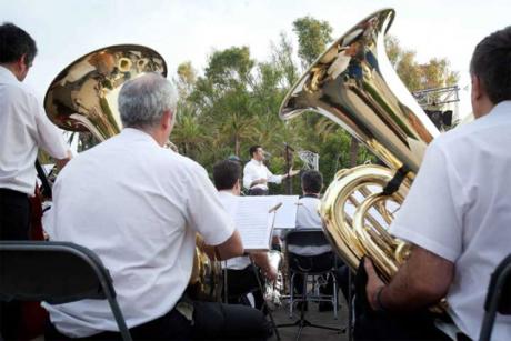 Conciertos de la Banda Municipal de Valencia en los Jardines del Palau