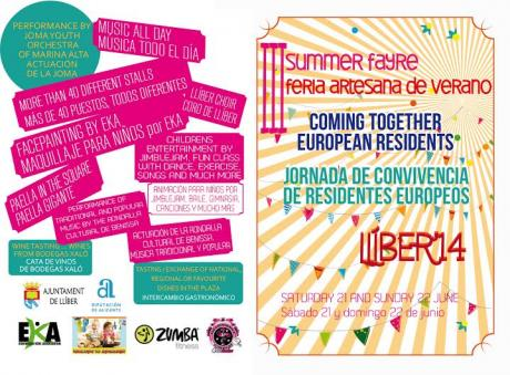 III SUMMER FAYRE AND COMING TOGETHER EUROPEAN RESIDENTS