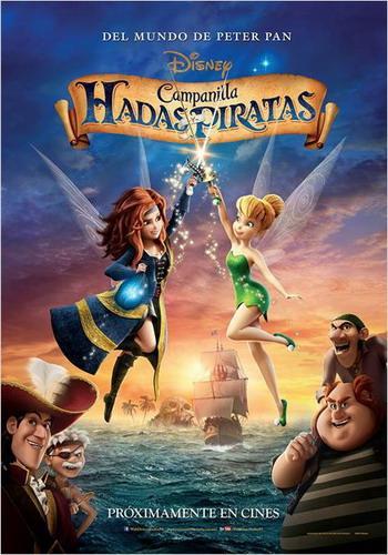 Cine Infantil: Campanilla hadas y piratas