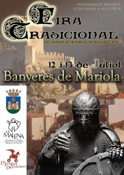 Feria tradicional de Santa María Magdalena