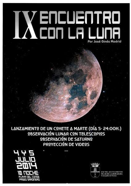 IX Encuentro con la Luna en Pilar de la Horadada 2014