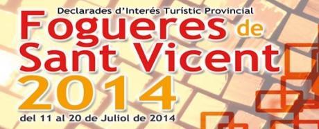 Programación Hogueras de San Vicente del Raspeig 2014