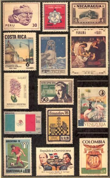 Stamp market in Benissa