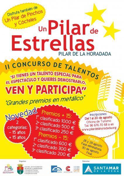 """II Concurso de talentos """"Un Pilar de Estrellas"""" en Pilar de la Horadada 2014"""