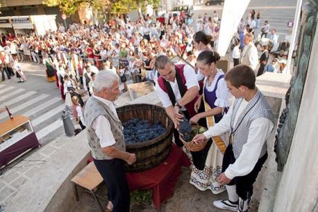 Requena, el municipio donde la vendimia es una fiesta