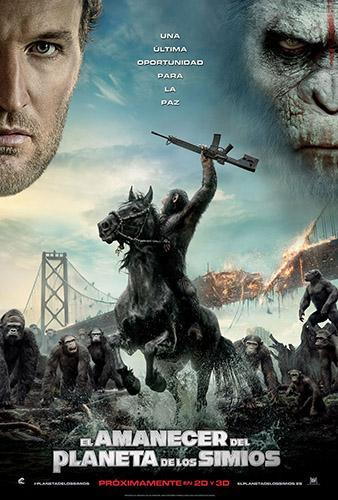 Cine: El amanecer del planeta de los simios