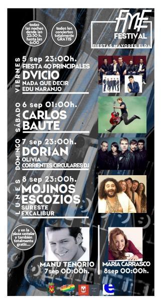 Fiestas Mayores de Elda 2014