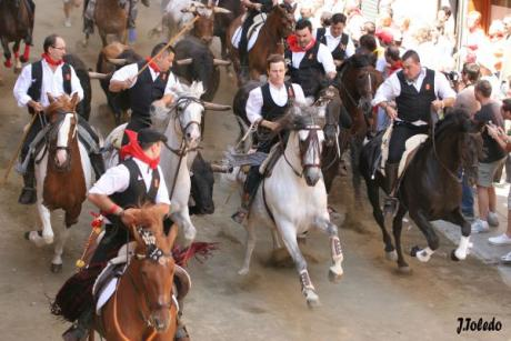 Everything ready for the Segorbe Bulls and Horses Entrance