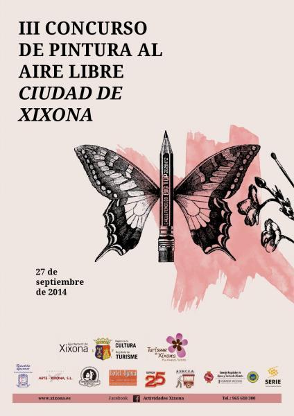III Concurso de Pintura al Aire Libre Ciudad de Xixona