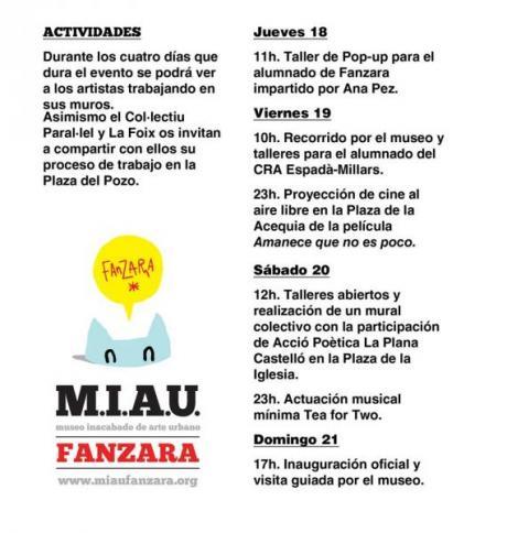 El M.I.A.U en Fanzara