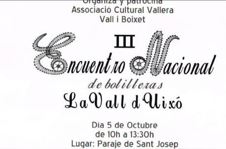 III Encuentro Nacional de Bolilleras en La Vall d'Uixó
