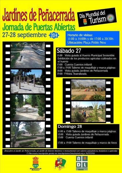 "Mutxamel-Dia Mundial del Turismo DMT2014-""Se turista en tu ciudad"""