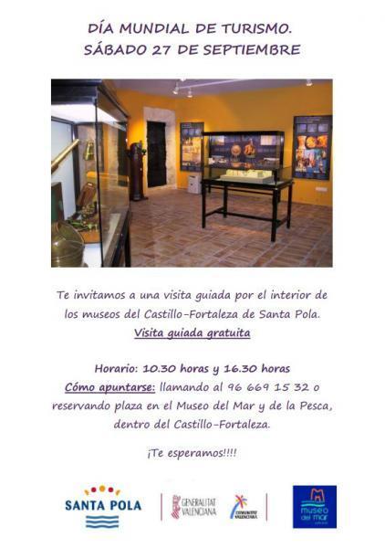 Santa Pola - Día Mundial del Turismo- DMT 2014 - Sé Turista en Tu Ciudad