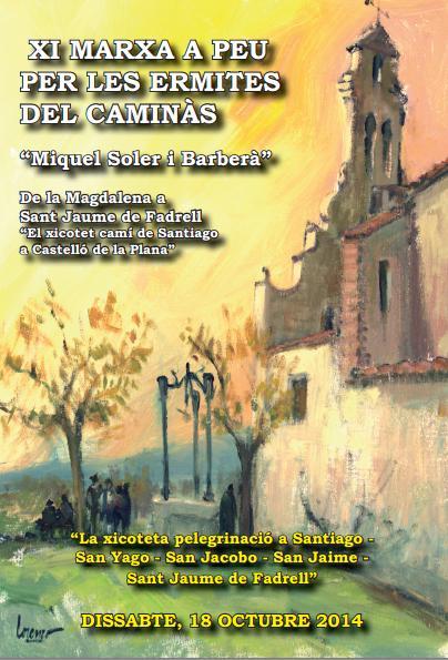 XI Marcha a pie por las ermitas de Castellón
