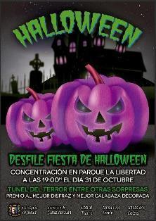 Desfile fiesta de Halloween en Catral 2014