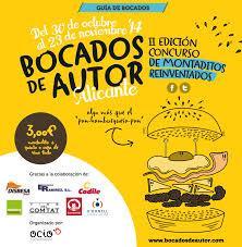 Bocados de Autor de Alicante. II Edición Concurso de Montaditos Reinventados 2014