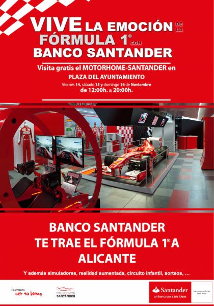 La emoción de la Formula 1 en la Plaza del Ayuntamiento 2014