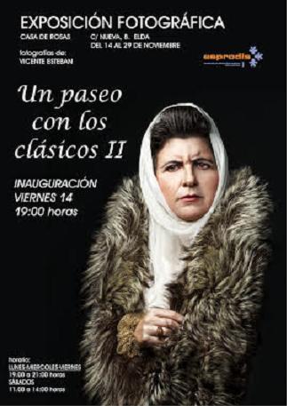"""Exposición Fotográfica """"Un paseo con los clásicos II"""""""