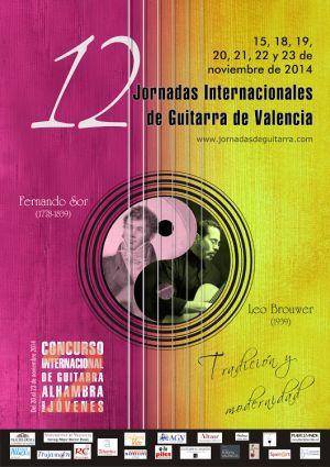 XII Edición de las Jornadas Internacionales de Guitarra de Valencia