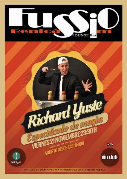 Richard Yuste - Espectáculo de magia