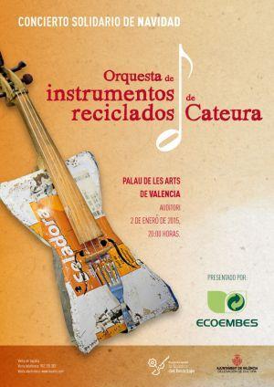 Orquesta de Instrumentos Reciclados de Cateura en el Palau de les Arts