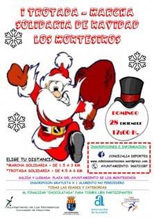 I Trotada y Marcha Solidaria Navideña en Los Montesinos