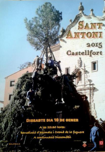 Festividad de San Antonio Abad en Castellfort