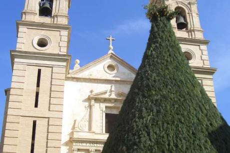 Arde Canals con el fuego de Sant Antoni