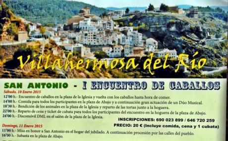 Festividad de San Antonio Abad en Villahermosa del Río