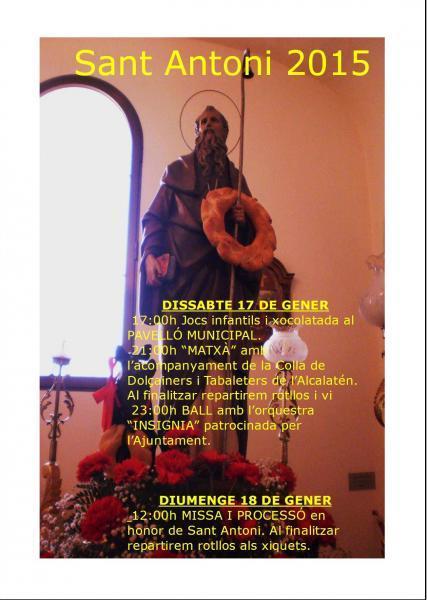 Festividad de San Antonio Abad en Costur