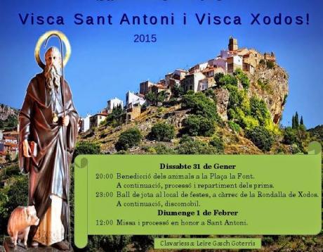 Fiesta de Sant Antoni a Xodos