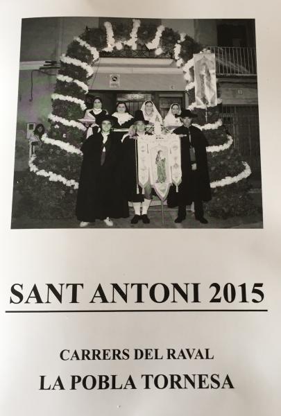 Festividad de San Antonio Abad en La Pobla Tornesa