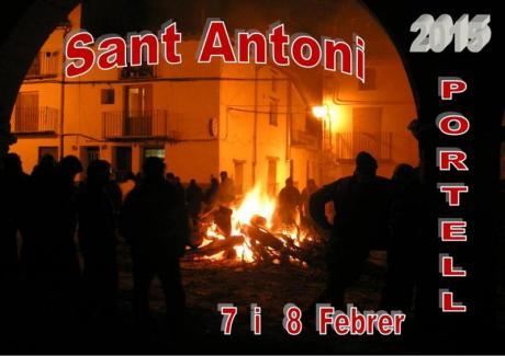 Festividad de Sant Antoni Abad en Portell de Morella