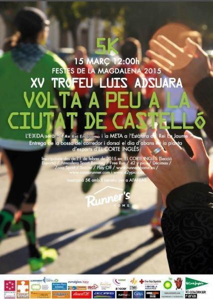 "XV ""Volta a Peu"" a la ciudad de Castellón"