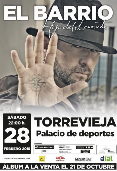 El Barrio. Concierto en Torrevieja
