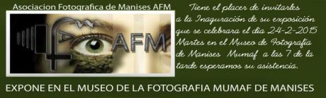 Exposición Asociación Fotográfica de Manises (AFM) en Sala de Exposiciones del MUMAF.