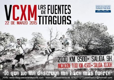 VCXM FUENTES DE TITAGUAS -Liga CXM Serrania 2015