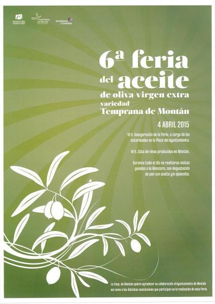 6ª Feria de aceite de oliva virgen extra de Montán