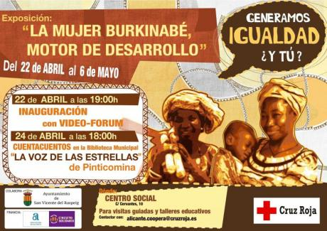 """Exposición """"La mujer burkinabé, motor de desarrollo"""""""