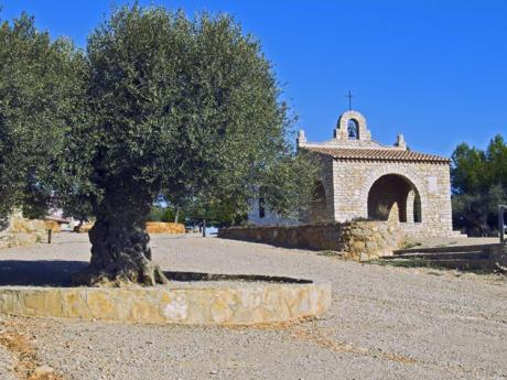 Romería a la ermita de San Cristóbal en Vall d'Alba