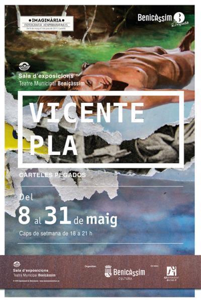 Exposición de Vicent Pla: Carteles Pegados
