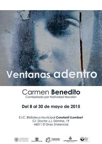 Exposición Ventanas adentro de Carmen Benedito