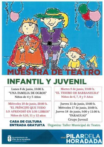 Muestra de Teatro en Pilar de la Horadada 2015