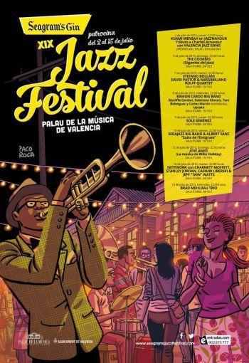 XIX Seagram's Gin Jazz Festival Palau de la Música de Valencia