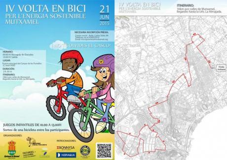 IV Vuelta En Bici por la energia sostenible