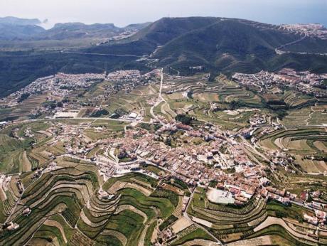 Sierra de la Llorença y macizo del Puig Llorença